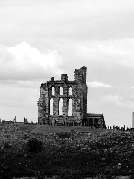 Tynemouth Priory Northumberland Tynemouth Priory Tynemouth  Landscapes B&w Photography North East