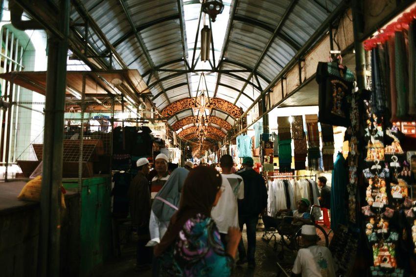 Ampel Market. Famous arabic market in town. Surabaya, East Java, Indonesia. Market Retail  Market Stall Indoors  Day Surabaya INDONESIA Culture Cultures Arabic