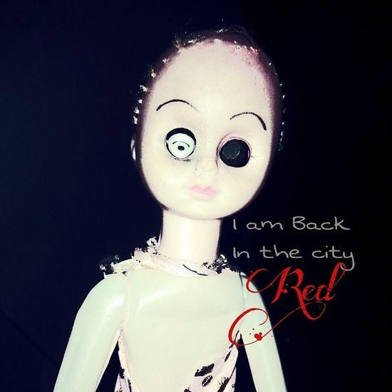 Photography Photo Doll Horror Broken Devil Myster_red MYSTER _mystrred