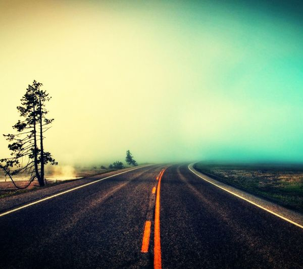 Mist Mistery Misty Morning Road Road To Nowhere Spooky Not See You