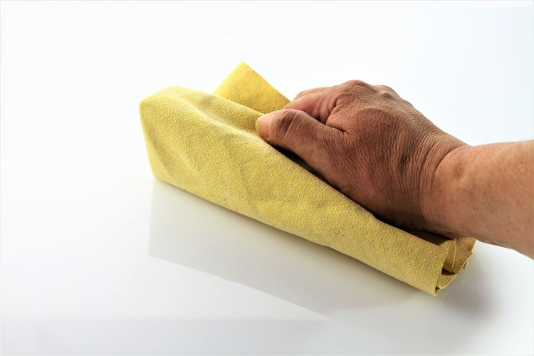 An image of cleaning a surface - housekeeping (Different color versions) Cleaner Cleaning Household Housekeeping Housework Washing Working Clean Color Dust Human Body Part Human Hand Rubber Surface Wash White Background