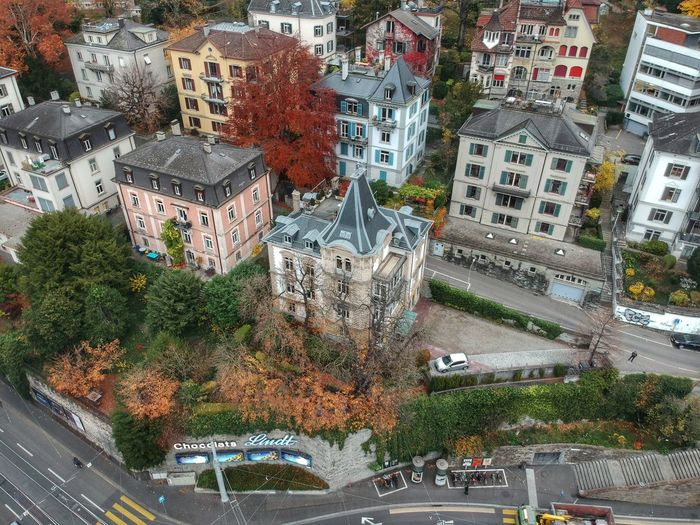Cool Castle 🏰 - Zurich, Switzerland 2018 Dji Spark Dronephotography DJI X Eyeem Switzerland Architecture City Built Structure Building Exterior Motor Vehicle Land Vehicle Transportation Transportation Plant Car High Angle View Architecture Road Mode Of Transportation Day City Nature No People Tree Building Street Residential District Outdoors