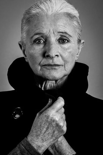 Old Woman Old Woman Old Woman Blackandwhite Black Coat Hands White Hair www.gautiervl.book.fr