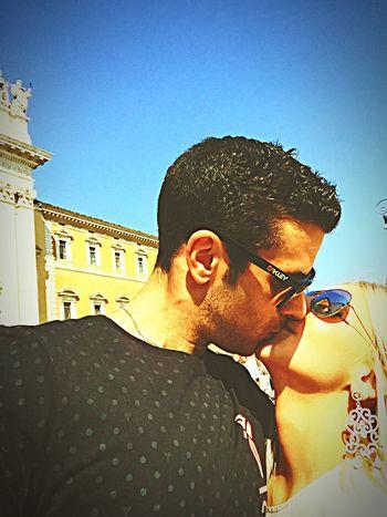 Amore Love Loveyou Kiss Kiss Kiss Tiamo Iloveyou Roma Rome Fidanzata