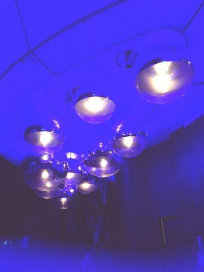Lights Nightphotography Ceiling Light And Shadow