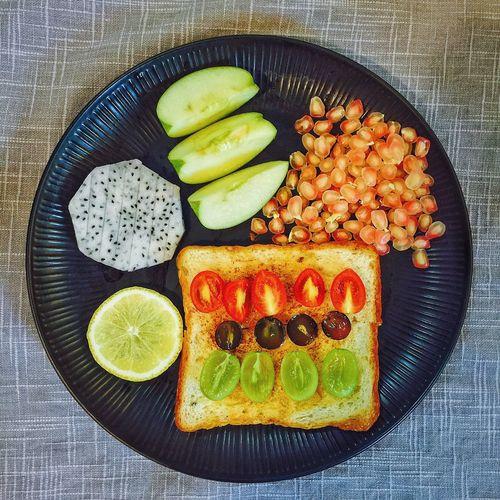 【❤️】今天的🤓 春子私房菜 一个人生活 手机摄影 美食 早餐