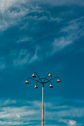 Blue Blue Sky City Cityscape Cloud - Sky Day EyeEm Best Shots EyeEm Gallery EyeEmNewHere Flower Lamp Low Angle View No People Place Of Heart Sky Street Street Light Street Photography Streetart Streetphotography The Street Photographer - 2017 EyeEm Awards Urban Place Of Heart Place Of Heart Colour Your Horizn Colour Your Horizn Colour Your Horizn Stories From The City