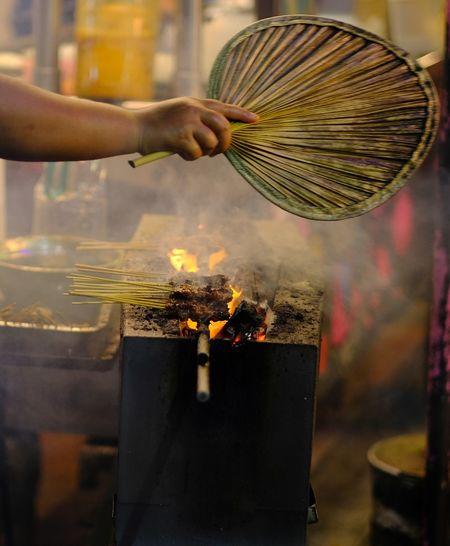 Satay, the best south east asian street food.