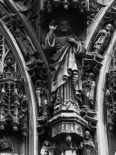 Black And White Friday Statue Sculpture Architecture Reliogn And Culture Church Architecture