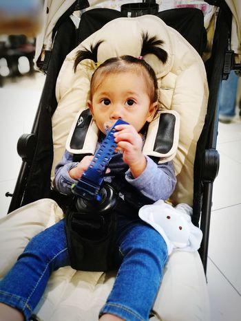 What time now??? Baby Cute Happiness MummydaddyloveUsomuch Malaikaeliya MiniCooper HuweiP9plus DualCamera Babies Only Malaikaeliya Portrait Baby Stroller Lifestyles