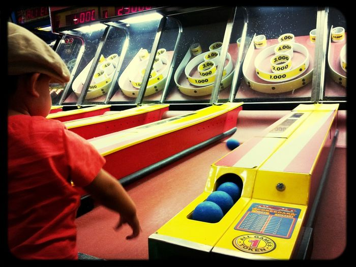 Skeeball champ! 25 Days Of Summer