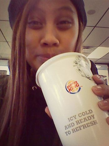 lunch at burger king (: