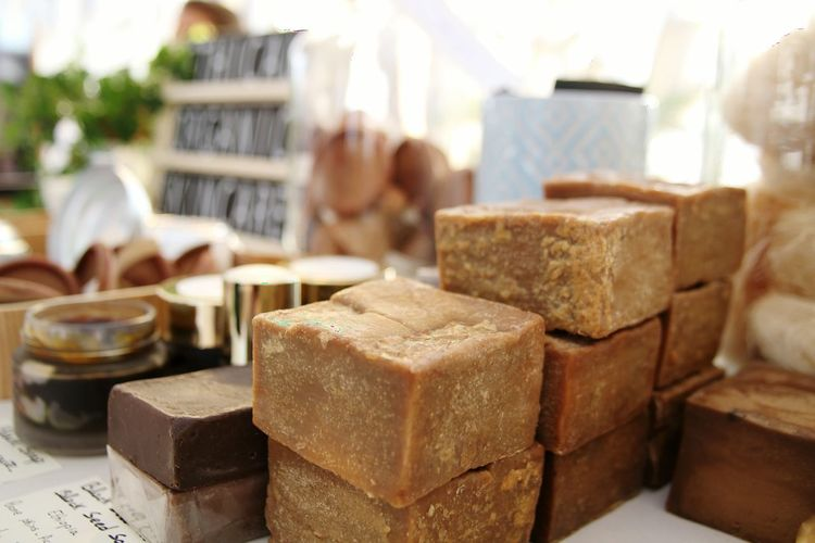 Aleppo Soap Bars Souq Natural Cosmetics Beauty Natural Soap Middle East Close-up