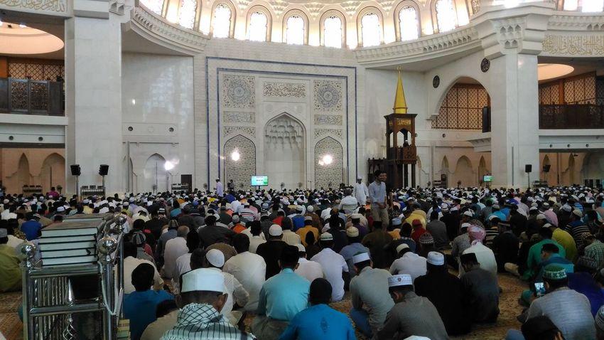 Eid Sermon, Mosque Muslims Quran Eid Islam Malaysia Mosque Muslim Muslim Prayer Prayer Sermon first eyeem photo