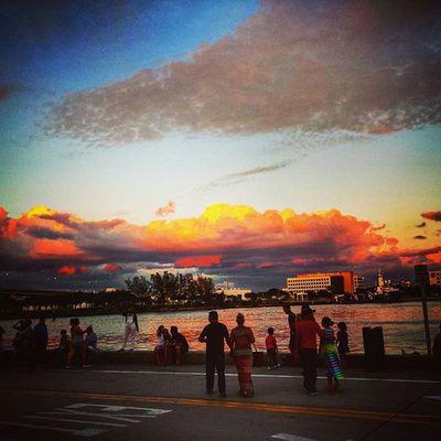 Miami Bayside... Itsabeautifulevening