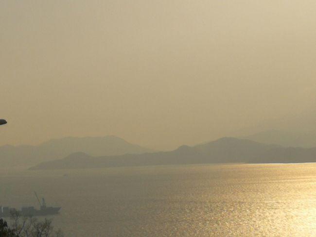 Mountain Water Sea Sunset Fog Flamingo Sky Landscape