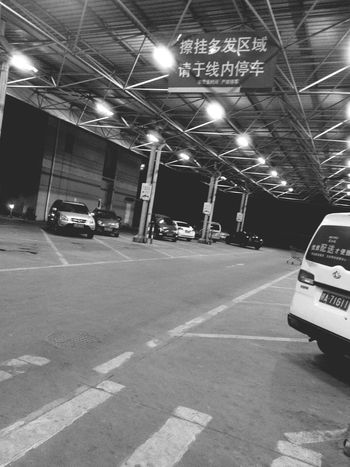 Night Simple Black And White Hello World EyeEm Light Cars In This Moment China