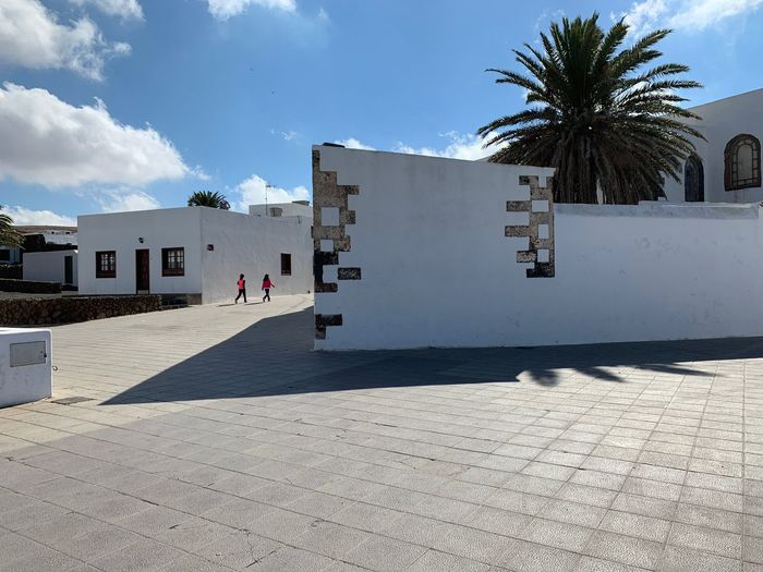 Lanzarote-Canarias Lanzarote Island Teguise Architecture Built Structure Building Exterior Sunlight Sky Nature Day Building Shadow Outdoors Travel Destinations