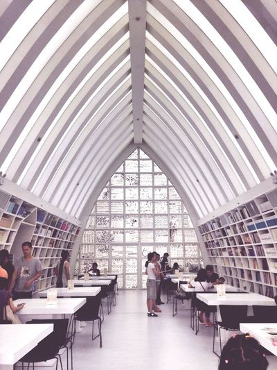 Building Knowledge Library Books Light And Shadow Pure White