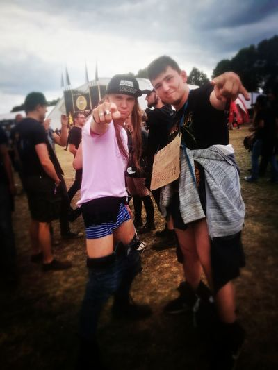 when there are really weird people at graspop 2018 Rendom Metalheads Metal Graspop Freinds Nopants Wierdos Fun Love Friendship Men Fan - Enthusiast Youth Culture Party - Social Event Music Festival Concert Festival Goer Live Event