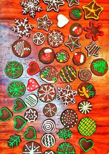 Christmas cookies Christmas Cookie Cookies Colors Food Table