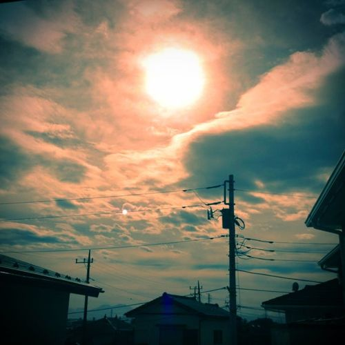 The sun shines after the storm, and hope shines in strong heart. Nature Sky_collection Storm Réflexion