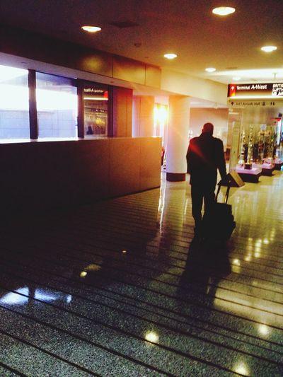 un uomo e il suo fardello Philadelphia Trip Sunset Comeback