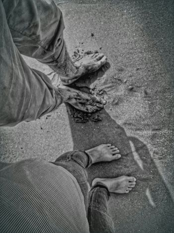 What I ValueA lovely foots..and a charming moment with my man..💜💜💜 First Eyeem Photo