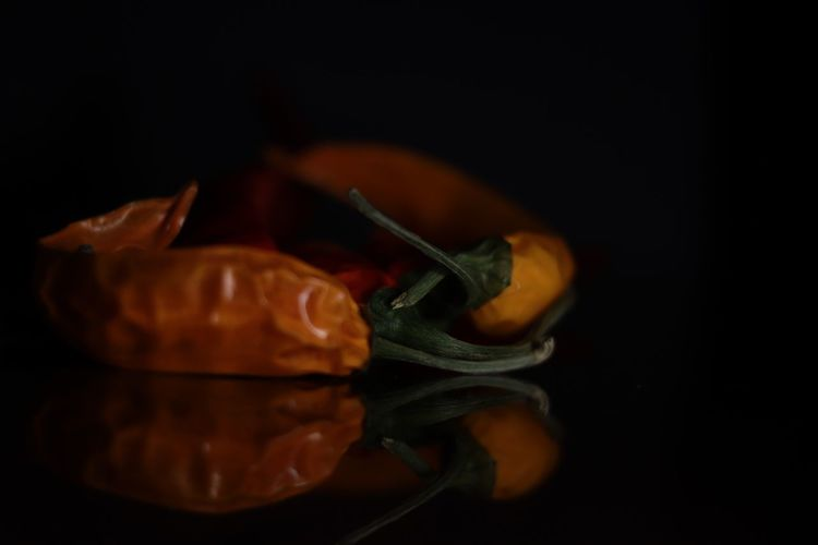Hot Chili Peppers 50mm F1.8 Sl2 200D Canon Close-up Indoors  Food And Drink Still Life Black Background Studio Shot Food No People Table Healthy Eating Vegetable