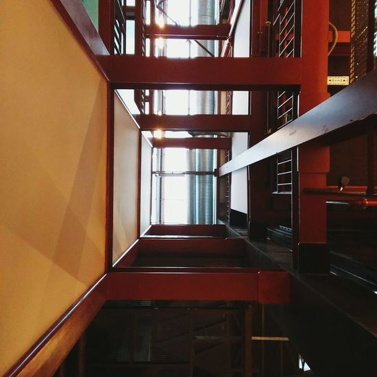 Railing Indoors  Architecture Built Structure No People Day Turkey Istanbul Bilgiüniversitesi Bilgiuniversity University