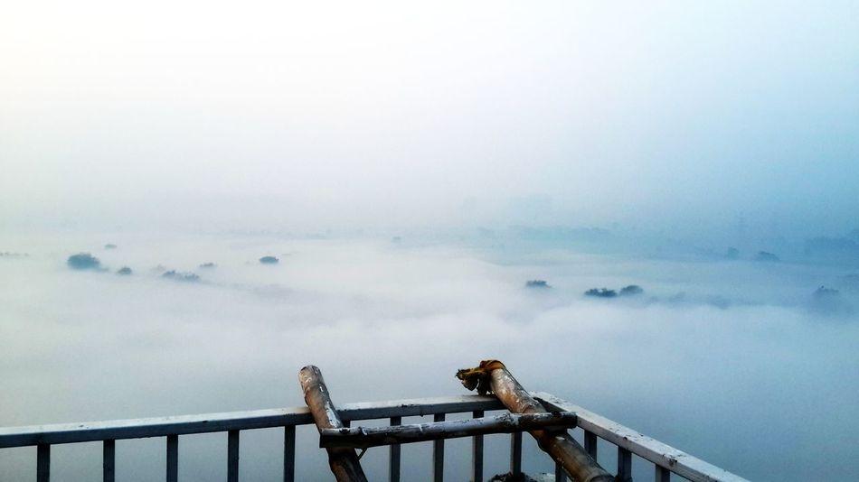Sky Fog Railing