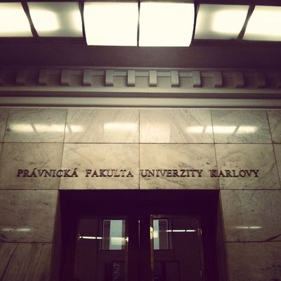 Almamater University Prague Praha law lawschool