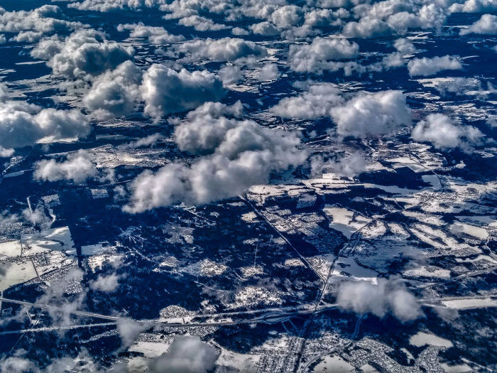 White clouds over Russia Full Frame Backgrounds Pattern Cloud - Sky Beauty In Nature Sky Politics And Government Birds Eye View Airplane View Airplaneview Airplane Window View Airplane Shot No People Day Water Nature Outdoors Close-up Let's Go. Together.