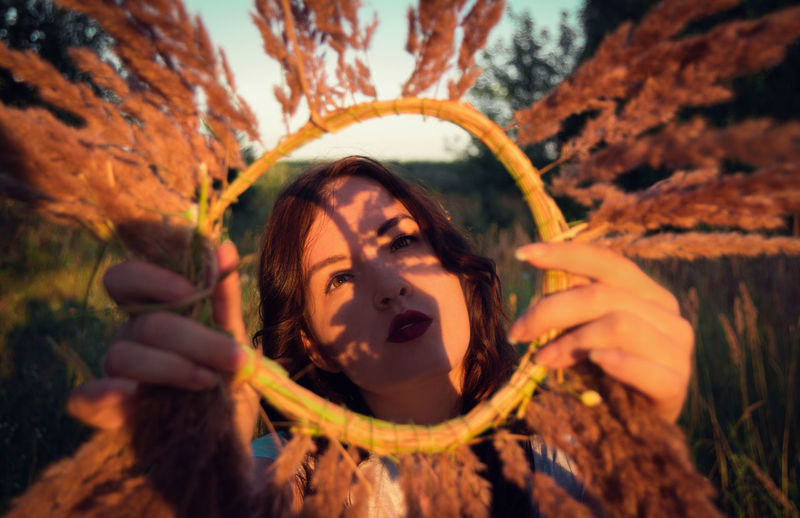 Summer View Wreath Of Flowers Girl Portrait Summer Mood Outdoors Warm Colors Colors Of Summer Eyeem Photo The Week On EyeEm Nature Lover Beauty In Nature Freshness Great Outdoors Magic In Nature From My Point Of View By Ivan Maximov Our Best Pics Meadow Life Beauty In Ordinary Things Lifestyle Lifestyles Human And Nature Evening Colors Nature Wreath