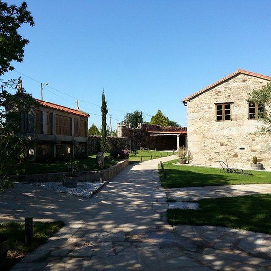 En el @pazodexerlis ya esta todo preparado para el Wineuptour Primavera2015 . Última etapa en Galicia