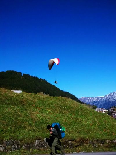 Nature_collection Switzerland Bernese Oberland Landscape_Collection Blue Sky Mountains