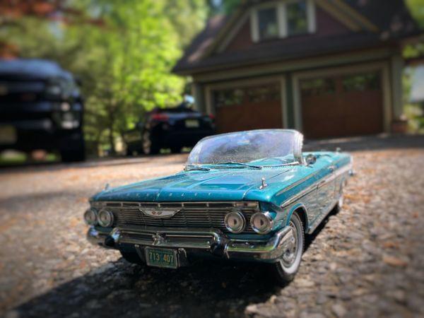 1961 Chevrolet Impala. Chevrolet Chevy Car Mode Of Transportation Motor Vehicle Transportation Toy Land Vehicle City