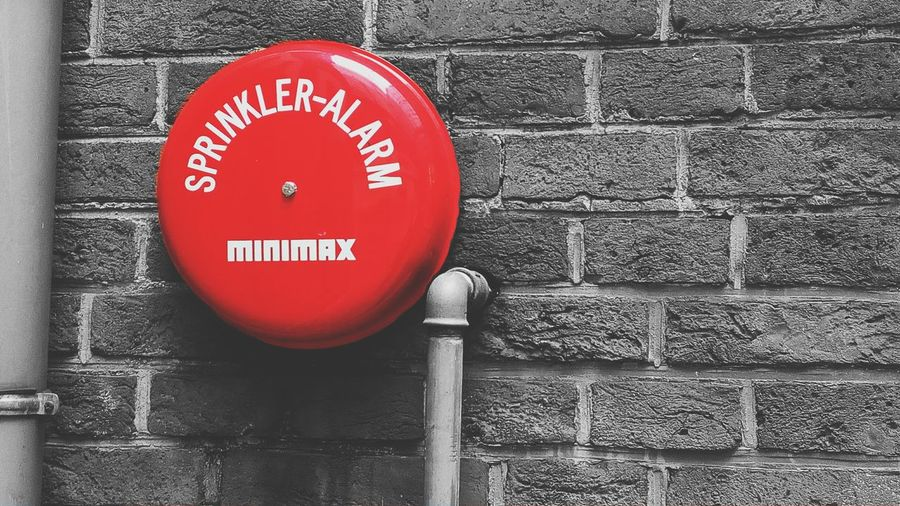 Red Fire Alarm Emergency Sign Alarm System Alarm Alarm Bell Alarm Sign Red Alarm
