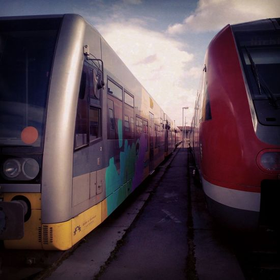 Train Spotting  Public Transportation Deutsche Bahn Taking Photos Enjoying Life The Human Condition Daydreaming Being Intellectual Watching Trainyard