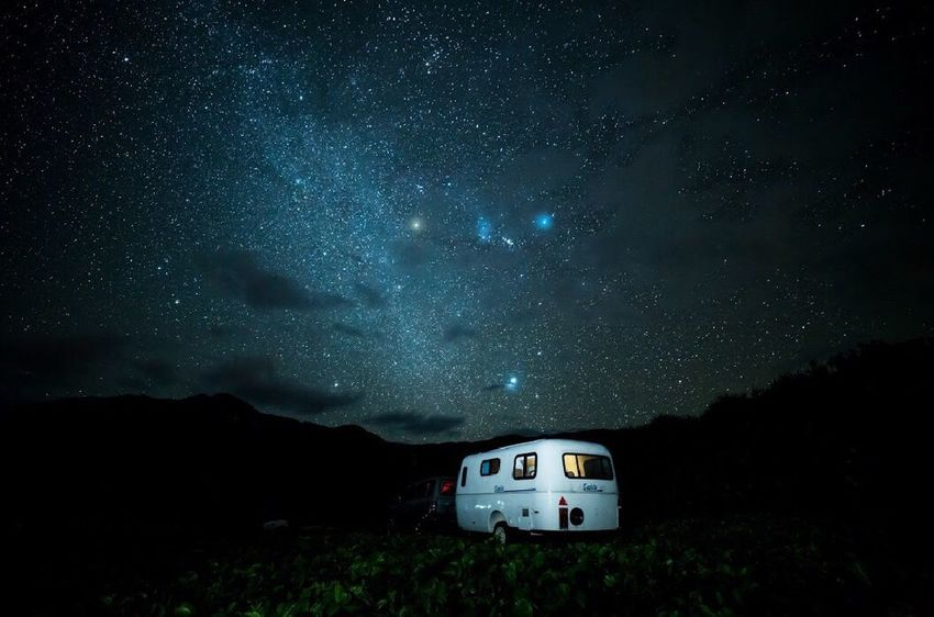Galaxy Night Milky Way Outdoors Sky Nature Star - Space Camping Camping Trip! Horiday Beauty In Nature Traveling Home For The Holidays Okinawa