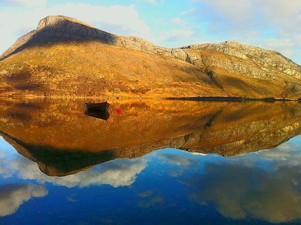 Gairloch Water Reflections Still Water