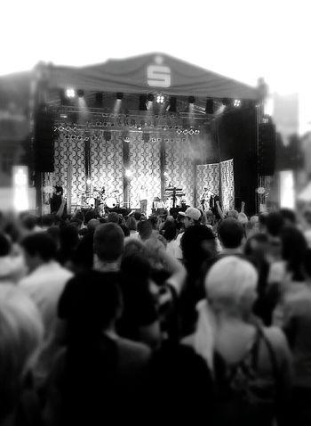 Black & White Blackandwhite Concerts Party Gildo Horn Happy People People Photography Enjoying Life