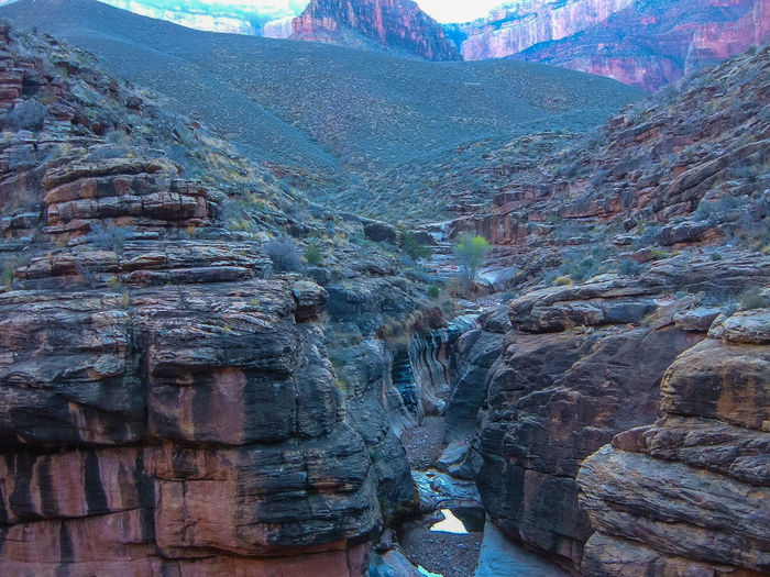 No Way Out Grand Canyon Grapevine Trail Grand Canyon North Rim