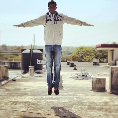 Taken with a DSLR. Levitating Flyinghigh