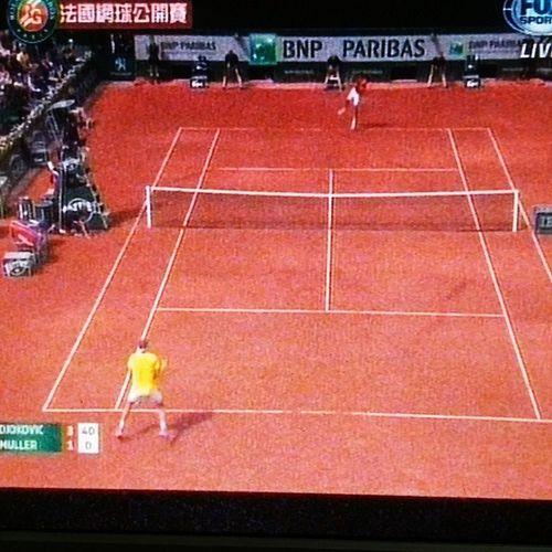 法網竟然靜悄悄地開打了~ Frenchopen2015 Tennis