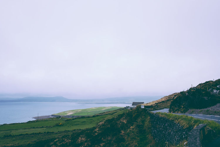 Ireland Beauty In Nature Day Grass Horizon Over Water Nature No People Outdoors Ring Of Kerry Scenics Sea Sky Tranquil Scene Tranquility Water