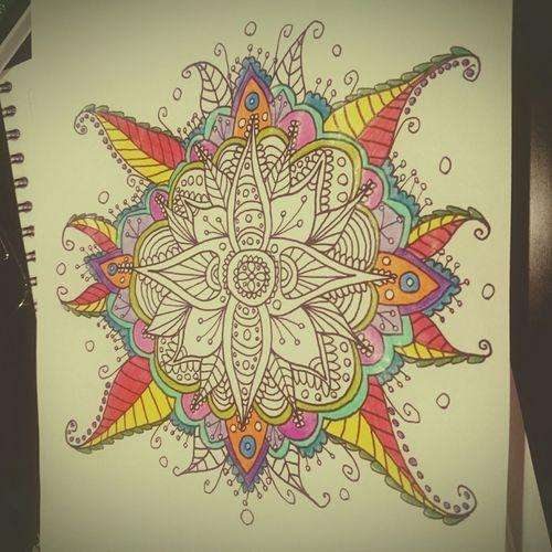 Mandalas Coloring Mandalas!  Coloreando Mandalas❤