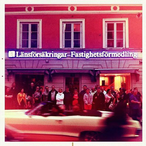 Cruising i Uppsala - känns som att vara hemma i Delsbo ;)