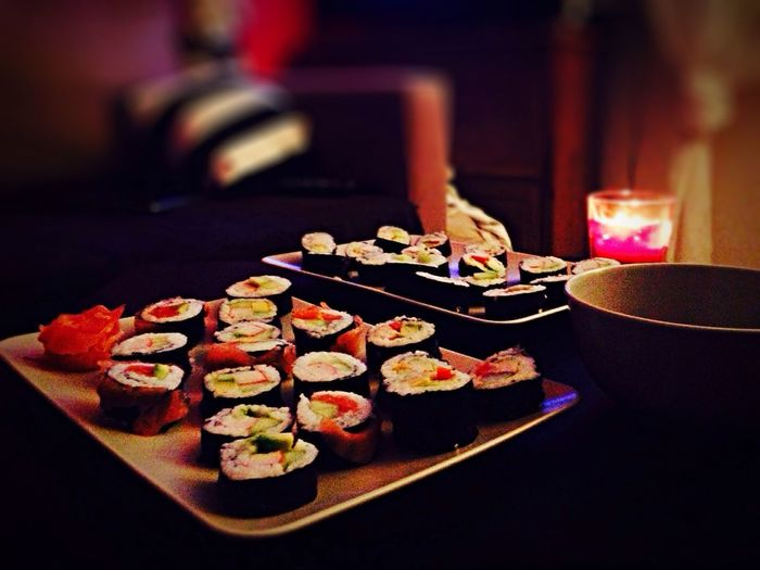 Sushi masters!:) Sushi Sushi Time Homemade Homemade Food FirstTime Food Asian Food Delicious Delicious Food Proud
