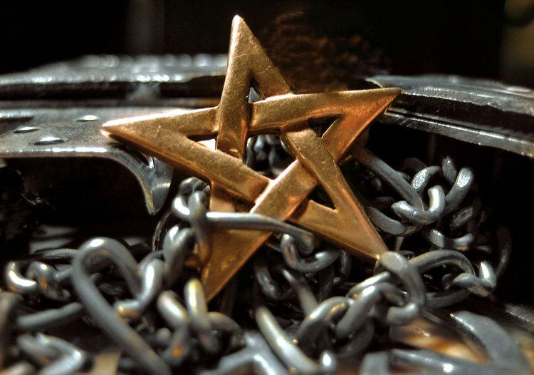 Close up of metal